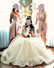 Продам шикарное счастливое свадебное платье