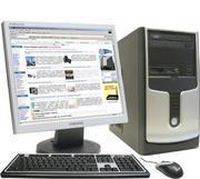 Компьютер 2-ядерный Intel Core 2 Dou 2, 6 Гц c монитором 19
